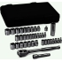 "1/4"" & 3/8"" SAE&Metric Socket Set, 39pc"