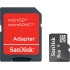 SanDisk  8GB MicroSDHC with SD Adapter Class 10 Cards