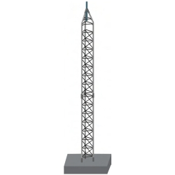 55G 60ft Freestanding Tower Kit