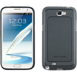 Dimensions TPU Case for Galaxy Note 2 in Gray