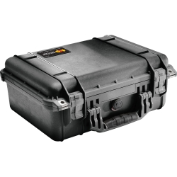 Equipment Case, Black. 14-13/16