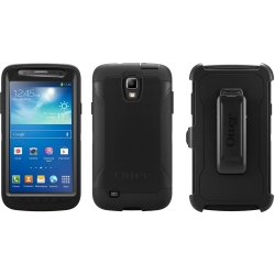 Defender Case for Samsung Galaxy S 4 Active, Black