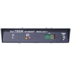Audio Over Fiber Media Transmitter, Mic Input, MM