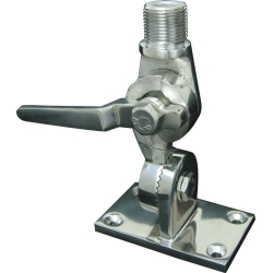 Stainless Steel Ratchet Mount for Marine Antennas
