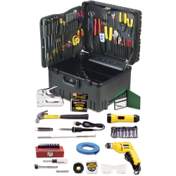 Deluxe Communications Kit 110pc in Wheeled Case