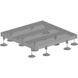 10'x10' Rooftop Equipment Platform