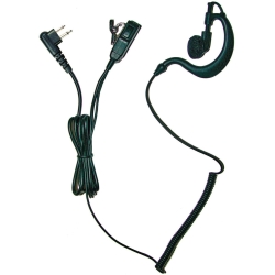 Earpiece, 2-Wire, Motorola Dual Pin