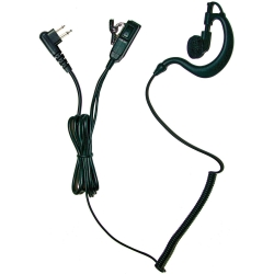 Earpiece, 2-Wire, Motorola Multi-pin