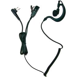 Earpiece, 2-Wire, Motorola Multi-pin