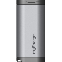 AMP 4000mAh Portable Battery Charger,Silver