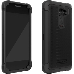 Shell Gel Case for LG Optimus G2 in Black/Black