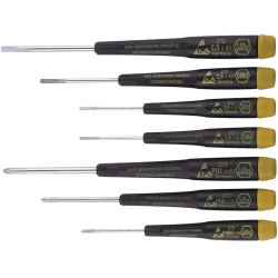 Screwdriver Set, ESD-Safe Precision, 7pc
