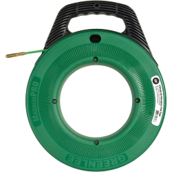 Greenlee tools 35743 fish tape 100 39 fiberglass tessco for Greenlee fish tape