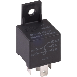 Relay, SPDT 12Volt/20-40AMP with bracket