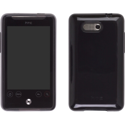 TPU Skin Case for HTC Aria in Black