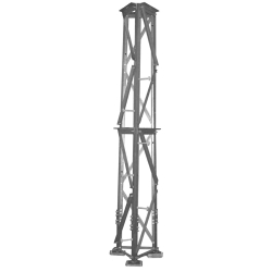 S3A-LDA 50-ft Series 7 Self-Supporting Tower