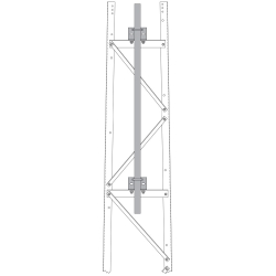 S3A-LDA Antenna Face Mount Section 8