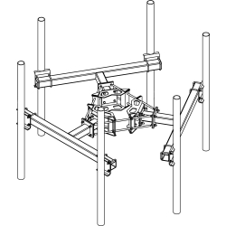 Square Tube T-Arm Kit 10
