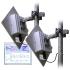 4.9 GHz Outdoor 5 Mbps Wireless Ethernet Bridge