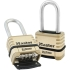 "Lock,4-Digit Combo 2-1/16"" Stainless Shackle"