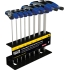"Journeyman T-Handle Set /w Stand,8 piece 6"" Metric"