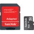 4 GB MicroSD Memory Card, with Adapter