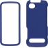 Soft Touch Case for Motorola i886 in Blue