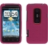 Silicone Case for HTC EVO 3D in Pink