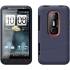 Shue Silicone Case for HTC EVO 3D in Blue