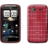 TPU Skin Case for HTC Sensation in Red