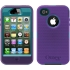 Defender Case for Apple iPhone 4S in Blue/Purple