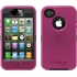 Defender Case for Apple iPhone 4S in Black/Pink