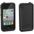 Waterproof Case for Apple iPhone 4S in Black