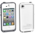Waterproof Case for Apple iPhone 4S in White