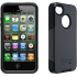 Commuter Case for Apple iPhone 4S in Black/Black