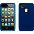 Commuter Case for Apple iPhone 4S in Blue/Blue