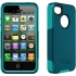 Commuter Case for Apple iPhone 4S in Teal/Teal