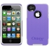 Commuter Case for Apple iPhone 4S in Purple/White
