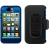 Defender Case for Apple iPhone 4S in Blue