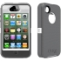 Defender Case for Apple iPhone 4S in White/Gray