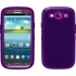 Defender Case for Samsung Galaxy S III in Purple
