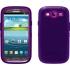 Defender Case for Samsung Galaxy S III in Purple