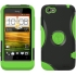 Aegis Case for HTC One V in Black/Green