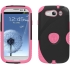 Aegis Case for Samsung Galaxy S III in Black/Pink