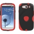 Aegis Case for Samsung Galaxy S III in Black/Red