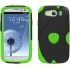 Aegis Case for Samsung Galaxy S III in Black/Green