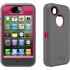 Defender Case for Apple iPhone 4S in Pink/Gray