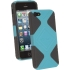 geo Case for the Apple iPhone 5/5s in Gray/Aqua