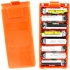 8xAA Alkaline Battery Case, Orange