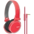 ReF High-Fidelity Stereo Headphones, Red